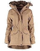 Fjällräven Sarek Winter Jacket W, sand