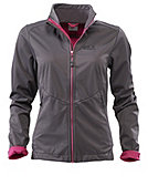 Jack Wolfskin Softshell-Jacke 'Chill Out Jacket Women', dark-steel
