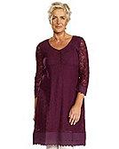 Deerberg Kleid Frida, rote-bete