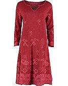 Deerberg Kleid Juliane, rot