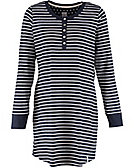 Deerberg Shirttunika Christina, marine-gestreift