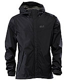 Jack Wolfskin Jacke 'Cloudburst Jacket Men', black