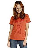 Elkline Shirt Rudolfine, papaya