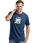 Elkline T-Shirt Methusalem, dunkelblau