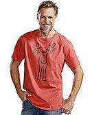 Elkline T-Shirt Rudolf, papaya