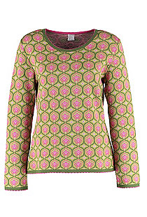 Jacquard-Pullover Mikie