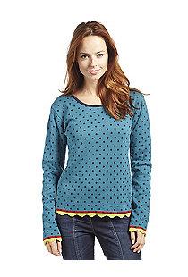 Jacquard-Pullover Kea