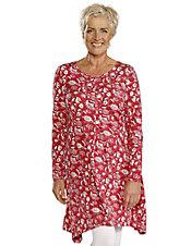 Druck-Kleid Anuscha