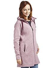 Fleece-Mantel Durchwärmer